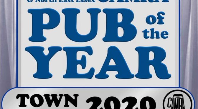 Pub of the Year 2020 Town Runners Up